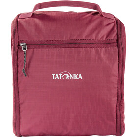 Tatonka DLX Bolsa Neceser Baño, bordeaux red